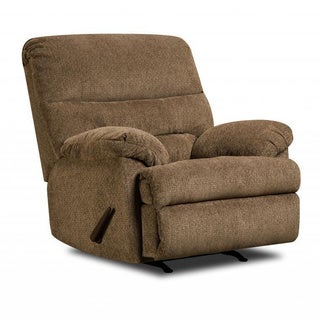 Made to Order Simmons Upholstery Dory Cafe Power Rocker Recliner