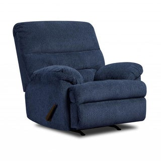 Made to Order Simmons Upholstery Dory Navy Power Rocker Recliner