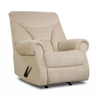 Made to Order Simmons Upholstery Aegean Cream Rocker Recliner
