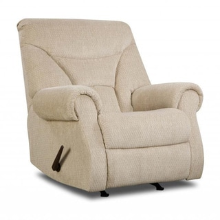 Made to Order Simmons Upholstery Aegean Cream Power Rocker Recliner