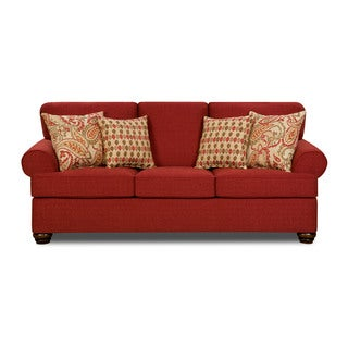 Made to Order Simmons Upholstery Sentiment Red Queen Hide-A-Bed