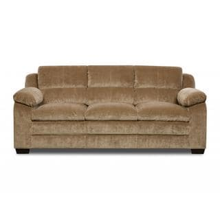Made to Order Simmons Upholstery Maui Camel Sofa