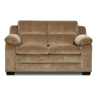 Made to Order Simmons Upholstery Maui Camel Loveseat