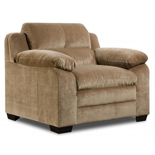 Made to Order Simmons Upholstery Maui Camel Chair