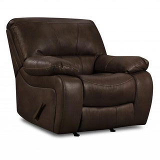 Made to Order Simmons Upholstery Viva Cocoa Rocker Recliner