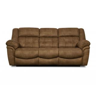 Made to Order Simmons Upholstery Dicaprio Latte Motion Sofa