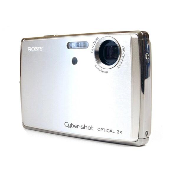 Sony Cybershot DSC-T33 5MP Goldtone Digital Camera