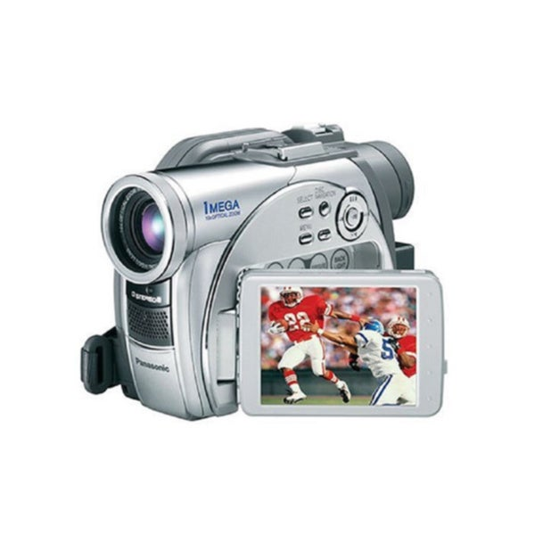 Panasonic VDR-M75 1MP DVD Camcorder with 10x Optical Zoom (Manufacturer Refurbished)