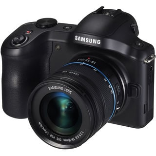 Samsung Galaxy NX120 Mirrorless Digital Camera with 18-55mm Lens