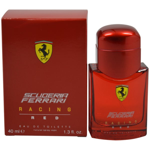 Ferrari Scuderia Racing Red Men 1.3-ounce Eau de Toilette Spray
