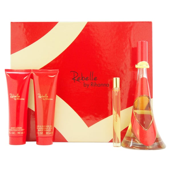 Rihanna Rebelle Women's 4-piece Fragrance Set