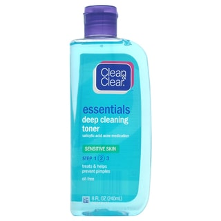 Clean & Clear Essentials 8-ounce Deep Cleaning Toner