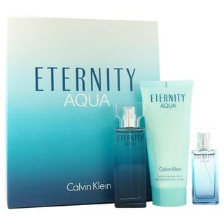 Calvin Klein Eternity Aqua Women's 3-piece Fragrance Set