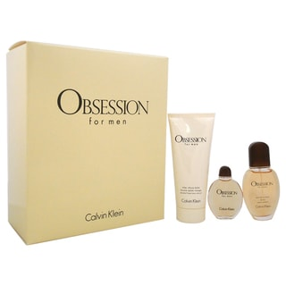Calvin Klein Obsession Men's 3-piece Fragrance Set