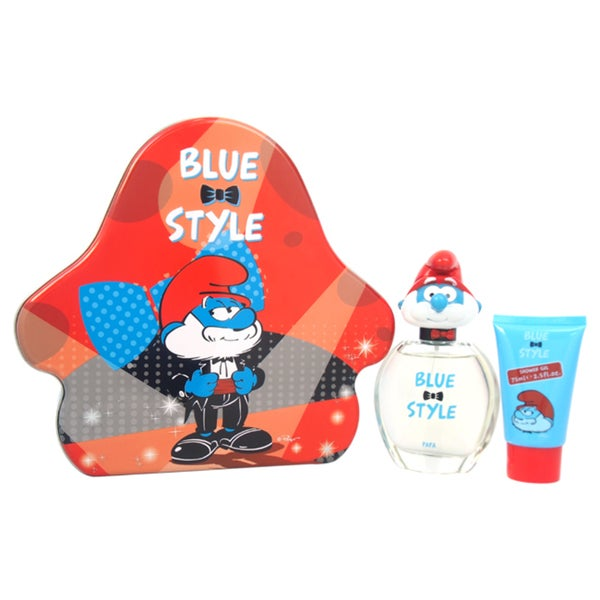 The Smurfs Blue Style Papa Kids 3-piece Fragrance Set