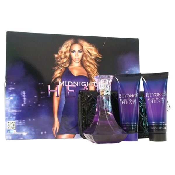 Beyonce Midnight Heat Women's 4-piece Fragrance Set