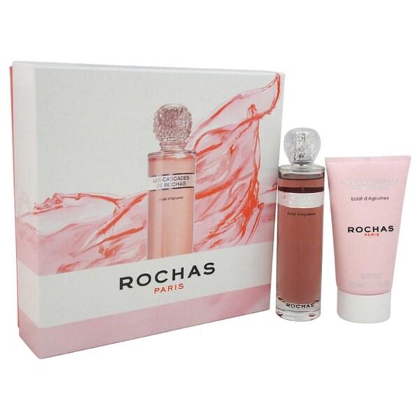 Rochas Les Cascades de Rochas Eclat d'Agrumes Women's 2-piece Fragrance Set