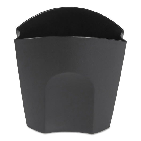 Rubbermaid Regeneration Recycled Plastic Black Super Pencil Cup