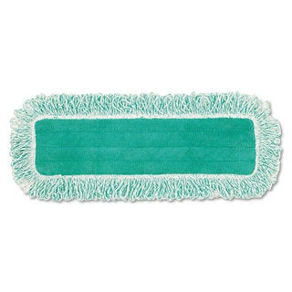 Rubbermaid Commercial Green 18-inch Long Dust Pad with Fringe