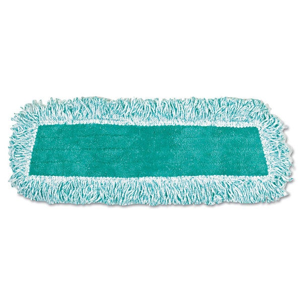 Rubbermaid 12-pack Green Microfiber Dust Mop with Fringe