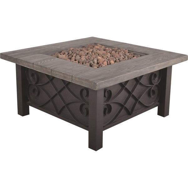 Marbella Steel Gas Fire Table
