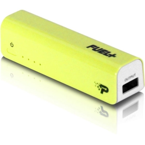 Patriot Memory FUEL+ Mobile Rechargeable Battery 2200 mAh - Yellow (P