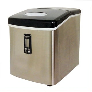 Versonel 2.1 Cubic Feet Stainless Steel Portable Ice Maker
