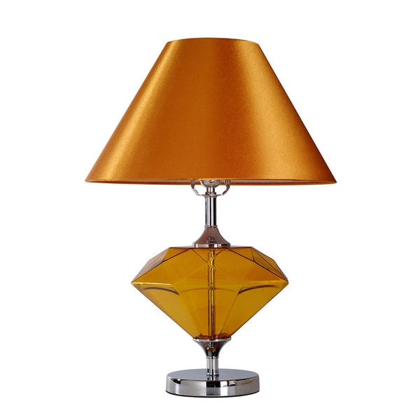 Elegant designs colored glass gem shaped table lamp 16605682 shopping great - Artistic d lamp shade designed with modern and elegant shape style ...