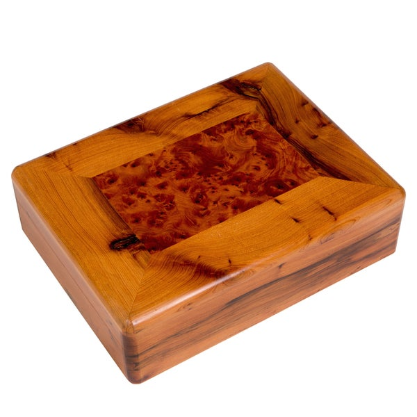 9-compartment Moroccan Thuya Wood Keepsake Box (Morocco)