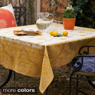Treetop Square Cotton Tablecloth