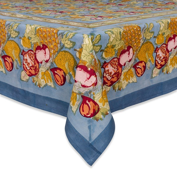 Tutti Frutti Square Cotton Tablecloth