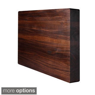 Square Kobi Block Walnut Grain Cutting Board