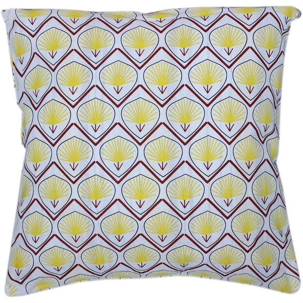 Auburn Textiles Multi-colored Geometric Printed Decorative Throw Pillow