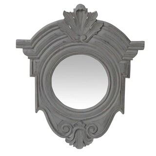 Antique Grey Decorative Wall Mirror (India)