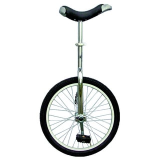 Chrome 20-inch Unicycle with Alloy Rim