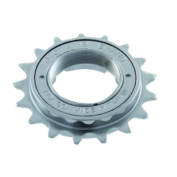 Single Speed 18-tooth Silver Freewheel