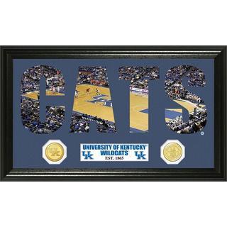University of Kentucky Basketball Word Art Panoramic Photo Bronze Mint Coin