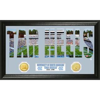 University of North Carolina Word Art Panoramic Photo Bronze Mint Coin