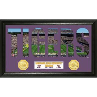 Louisiana State University Word Art Panoramic Photo Mint Bronze Coin
