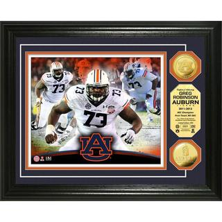 Greg Robinson Auburn Photo Mint Gold Coin