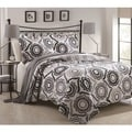 Mayanni 3-piece Contemporary Floral Quilt Set