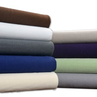 Brielle Jersey Knit Cotton Sheet Set or Pillowcase Separates