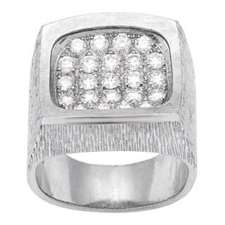 Pre-owned Piaget 18k White Gold 7/8ct TDW Diamond Estate Ring (E-F, VS)