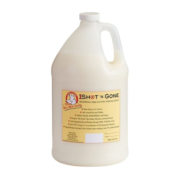 One Gallon Container of Mold Inhibiting Liquid