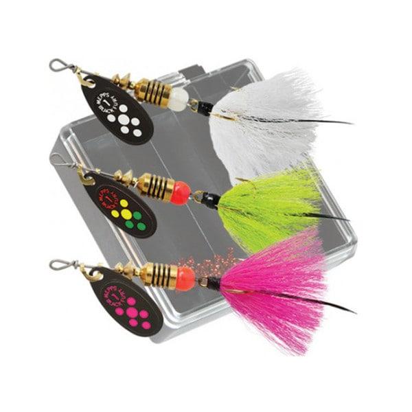Mepps Black Fury Dressed Trout Pocket Pack