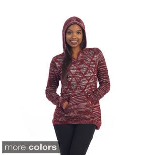 Hadari Women's Hoody Pocket Pull-over Sweater Top