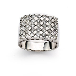 Diamonds for a Cure by Neda Behnam 14k White Gold 1 4/5ct TDW Diamond Ring (H-I, SI1-SI2)