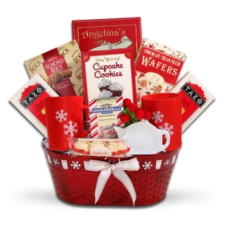 Snowflake Wishes Gift Basket