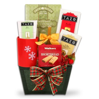 Holiday Tea Time Gift Basket