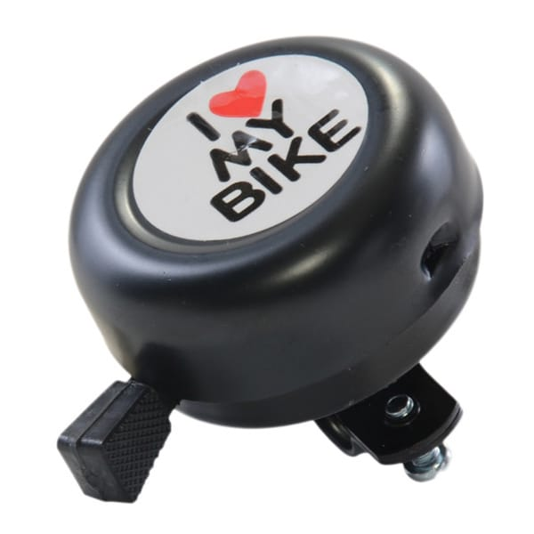 'I Love My Bike' Handlebar Bell